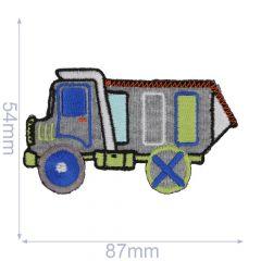 Iron-on patches Dump truck - 5pcs