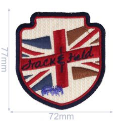 Iron-on patches arms Drack and Field - 5pcs