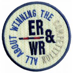 Iron-on patch button ER-WR - 5pcs
