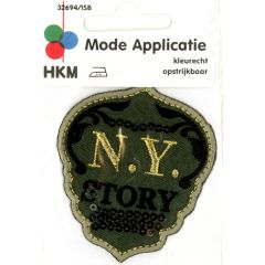 Iron-on patches arms N.Y. Story - 5pcs