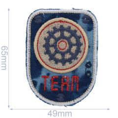 HKM Iron-on patch maritime - 5pcs