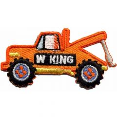 Iron-on patches Tow truck - 5pcs