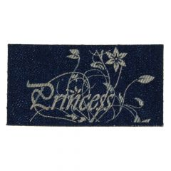 Iron-on patches Princess Jeans lasered - 5pcs