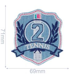 Iron-on patch tennis 2 - 5pcs