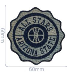 Iron-on patches All Stars Jeans leather lasered - 5pcs
