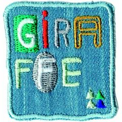Iron-on patches Jeans patch giraffe - 5pcs