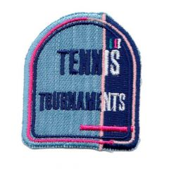 Iron-on patches Tennis Tournaments - 5pcs