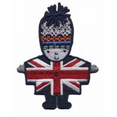 Iron-on patch London guard - 5pcs