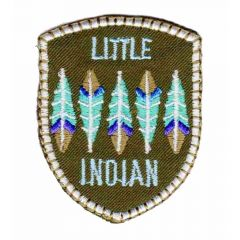 HKM Iron-on patch little indian - 5pcs