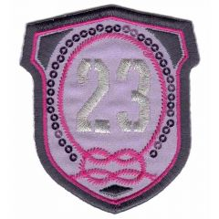 Iron-on patch arms 23 - 5pcs