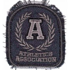 Iron-on patches Athletics Association - 5pcs