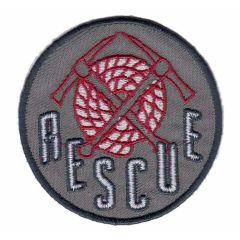 Iron-on patch rescue botton - 5pcs