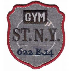 Iron-on patches Gym ST.N.Y. - 5pcs