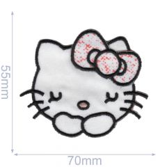 HKM Iron-on patch Hello Kitty - 5pcs