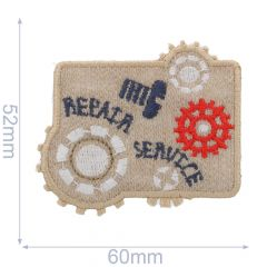 HKM Iron-on patch repair - 5pcs