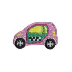 Iron-on patch cars - 5pcs