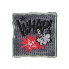 HKM Iron-on patch whap - 5pcs