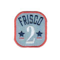 Iron-on patch frisco 2 - 5pcs