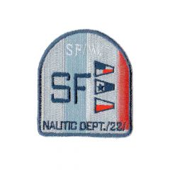 Iron-on patch arms SF with flags - 5pcs