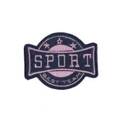 Iron-on patch sport arms - 5pcs
