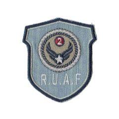 Iron-on patch R.U.A.F arms - 5pcs