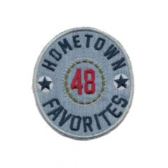 Iron-on patch hometown favourites - 5pcs