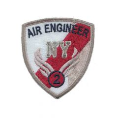 Iron-on patch air engineer arms - 5pcs
