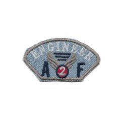 Iron-on patches Engineer blue jeans - 5pcs