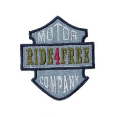 Iron-on patch ride 4 free - 5pcs
