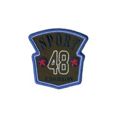 Iron-on patch sport 48 fashion - 5pcs