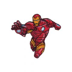 HKM Iron-on patch Iron Man flying - 5pcs