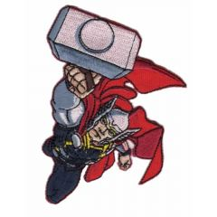 HKM Iron-on patch Thor flying - 5pcs