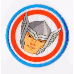 HKM Iron-on patch Thor - 5pcs