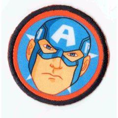 HKM Iron-on patch Captain America - 5pcs