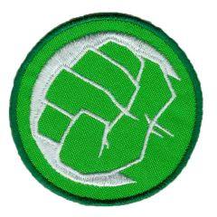 HKM Iron-on patch Hulk fist - 5pcs
