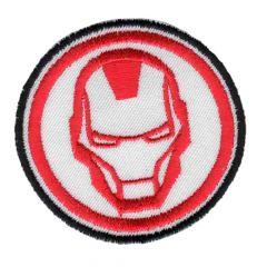 HKM Iron-on patch Iron Man - 5pcs