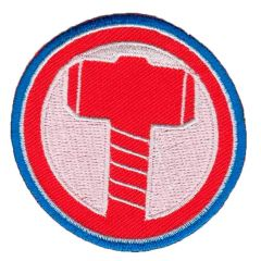 HKM Iron-on patch Thor's hammer - 5pcs