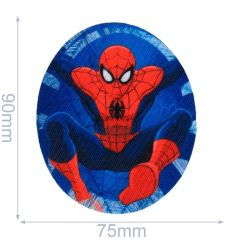 HKM Iron-on patch Spiderman - 5pcs