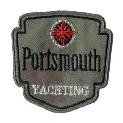 HKM Iron-on patch Porthsmouth - 5pcs