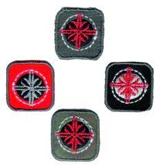 HKM Iron-on patch squares - 5pcs