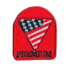 Iron-on patches America premium - 5pcs
