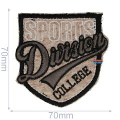 HKM Iron-on patch sports division - 5pcs