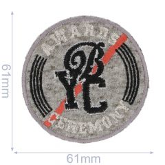 HKM Iron-on patch BYC - 5pcs