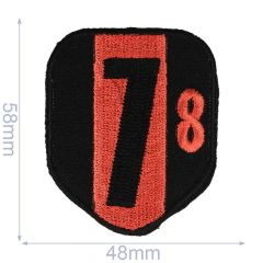 HKM Iron-on patch arms 78 48x58mm - 5pcs