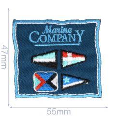 Iron-on patches Marine Comapny - 5pcs