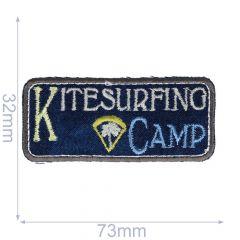 Iron-on patches Kitesurfing - 5 pcs