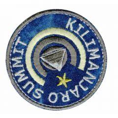 Iron-on patches Button Kilimanjaro Summit - 5pcs