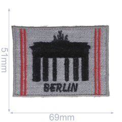 Iron-on patches Berlin - 5pcs