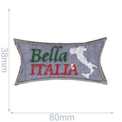 Iron-on patches Bella Italia - 5pcs