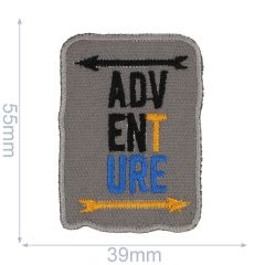 HKM Iron-on patch adventure - 5pcs